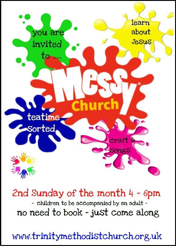 Messy Church Trinity Methodist Church Bury St Edmunds